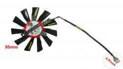 95mm Cooler Fan Placa De Video Nvidia Msi Pld10010s12hh