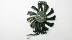 Cooler Fan Placa De Video Zotac 75mm (furação Retangular)