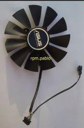 Cooler Placa De Video - Asus Strix 95mm 4 Pinos + 5 Pinos