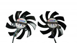 Dual Cooler Fan Para Placa De Vídeo Pny Gtx 1070ti